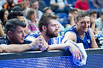 UCAM Murcia's players during the first match of the playoff at Barclaycard Center in Madrid. May 27, 2016. (ALTERPHOTOS/BorjaB.Hojas)