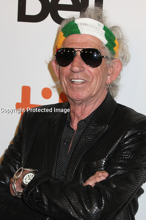 KEITH RICHARDS - RED CARPET OF THE FILM 'THE ROLLING STONES OLE OLE OLE! : A TRIP ACROSS LATIN AMERICA' - 41ST TORONTO INTERNATIONAL FILM FESTIVAL 2016 IN TORONTO, 16/09/2016. # FESTIVAL INTERNATIONAL DU FILM DE TORONTO 2016