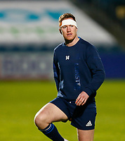 19th March 2021; RDS Arena, Dublin, Leinster, Ireland; Guinness Pro 14 Rugby, Leinster versus Ospreys; Rory O'Loughlin of Leinster warms up prior to kickoff