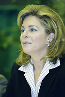 Her Majesty Queen Noor of Jordan, Mentor Foundation<br /> sit at the head table at the opening of the World Forum on Drug and Dependancy, September 23rd 2002 in Montreal, Canada<br /> <br /> PHOTO :  Agence Quebec Presse