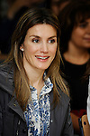 MADRID (26/04/2010).- Princess Letizia of Spain visits the Joaquin Blume school in Torrejon de Ardoz...Photo: Pool Carlos Alvarez / ALFAQUI