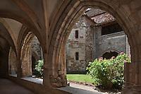 Europe/Europe/France/Midi-Pyrénées/46/Lot/Carennac: Cloitre de l'Eglise Saint-Pierre