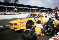 Southern 500 at Darlington Raceway in Darlington SC on September 1, 1985. )Photo by Brian Cleary/www.bcpix.com)