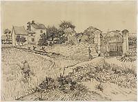 Farm in Provence, Vincent van Gogh, c. 1888