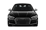 Car photography straight front view of a 2019 Audi S5 Premium-Plus 2 Door Coupe Front View