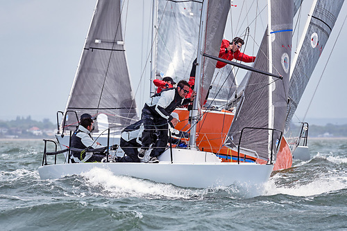 Tiger and Joker will be racing in the competitive Quarter Tonner class Photo: Rick Tomlinson