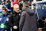 Javier Aguirre coach of CD Leganes and Imanol Alguacil coach of Real Sociedad