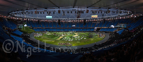 "27 JUL 2012 - LONDON, GBR - The ""Prologue"" section of the Opening Ceremony of the London 2012 Olympic Games in the Olympic Stadium in the Olympic Park, Stratford, London, Great Britain (PHOTO (C) 2012 NIGEL FARROW)"