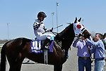 27 March 2010: Silver Time with John McKee up take the Queen Stakes at Turfway Park in Florence, Kentucky.
