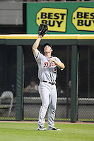 Detroit TIgers right fielder Brennan Boesch (26) during a game vs. the Chicago White Sox at U.S. Cellular Field in Chicago, Illinois August 13, 2010.   Chicago defeated Detroit 8-4.  Photo By Mike Janes/Four Seam Images