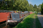 Houseboats on the Grand Union canal, North Paddington, London