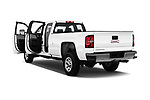 Car images close up view of a 2018 GMC Sierra 3500HD Double 4WD Cab Long Box 4 Door Pick Up doors