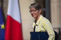 French Transports Minister Elisabeth Borne arrives to the Elysee presidential palace for the weekly cabinet meeting on Wednesday, 28 June 2017 in Paris # CONSEIL DES MINISTRES DU 28/06/2017