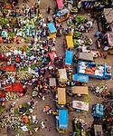 Busy vegetable market by Mustasinur Rahman Alvi