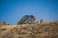 5th January 2021; Dakar Rally stage 3; #444 Chesneau Frédéric (fra), Chesneau Stéphane (fra), Can-Am, FS 21, SSV Series - T4, action during the 3rd stage of the Dakar 2021 between Wadi Al Dawasir and Wadi Al Dawasir, in Saudi Arabia on January 5, 2021