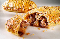 Steak pastry slice - Traditional British food