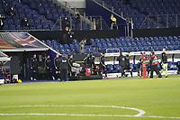 Deutsche Mannschaft kommt aufs Feld - 25.03.2021: WM-Qualifikationsspiel Deutschland gegen Island, Schauinsland Arena Duisburg