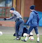 You never lose the skills, Ally McCoist backheels the ball and nutmegs Ian Black