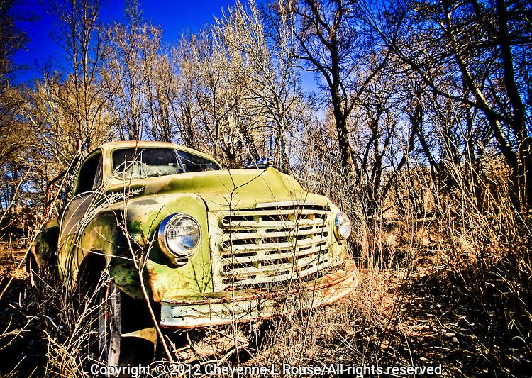 Nambe Studebaker Truck - New Mexico - Old Trucks
