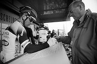 101st Scheldeprijs ..Mark Cavendish (GBR) signing in