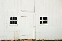 White barn facade, Connecticut, CT