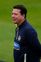 28th May 2021; Emirates Old Trafford, Manchester, Lancashire, England; County Championship Cricket, Lancashire versus Yorkshire, Day 2; Warren Hegg, former Lancashire & England wicket keeper and now serving as Lancashire's Head of Cricket Business