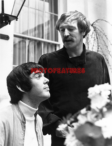 """Richard Harris and Jimmy Webb 1968 in London at time of """"Macarthur Park"""""""