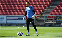 Sheffield Wednesday's Cameron Dawson during the pre-match warm-up <br /> <br /> Photographer Ian Cook/CameraSport<br /> <br /> The EFL Sky Bet Championship - Bristol City v Sheffield Wednesday - Sunday 27th September, 2020 - Ashton Gate - Bristol<br /> <br /> World Copyright © 2020 CameraSport. All rights reserved. 43 Linden Ave. Countesthorpe. Leicester. England. LE8 5PG - Tel: +44 (0) 116 277 4147 - admin@camerasport.com - www.camerasport.com