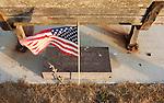 Memorial at harbor, Port Angeles, Olympic Penninsula, Washington.  Outdoor Adventure. Olympic Peninsula