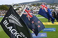20th March 2021; Dunedin, New Zealand;  Flags.<br />