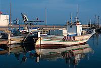 am Hafen von Houmt Souk, Djerba, Tunesien