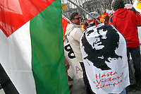 - strike and demonstration of Cobas labor union against economic politics of  government..- sciopero e manifestazione del sindacato Cobas contro la politica economica del governo