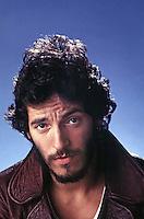 Portrait of Bruce Springsteen, Los Angeles, 1975. Photo by John G. Zimmerman.