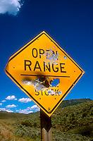Gunshot road sign<br />