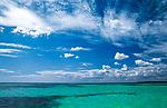 Dominikanische Republik, Isla Saona, Laguna Canto de la Playa, Wasser, Himmel und Wolken | Dominican Republic, Saona Island, Laguna Canto de la Playa, water, clouds, sky