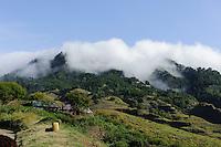 Passatwolken in den Süd-Ost-Bergen, Santo Antao, Kapverden, Afrika