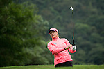 Amy Boulden of Wales tees off during Round 1 of the World Ladies Championship 2016 on 10 March 2016 at Mission Hills Olazabal Golf Course in Dongguan, China. Photo by Victor Fraile / Power Sport Images