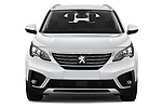 Car photography straight front view of a 2019 Peugeot 5008 Allure 5 Door SUV