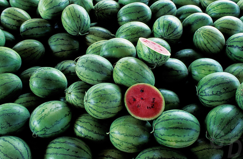 The smiling Watermelon Thailand. Images from the Book Journey Through Colour and Time