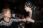 Tammy Grimes and Liliane Montevecchi attending 'Love n' Courage' - Theater for the New City Benefit at The National Arts Club on February 24, 2014 in New York City.