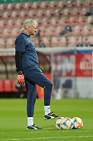 Swiss goalkeeper coach Guido Stadelmann  pictured during a female soccer game between the national teams of Belgium , called the Red Flames and Switzerland on the 8 th and last matchday in group H for the qualification for the Womens EURO 2022 in England , on Tuesday 1 th of December 2020  in Leuven , Belgium . PHOTO SPORTPIX.BE   SPP   DIRK VUYLSTEKE