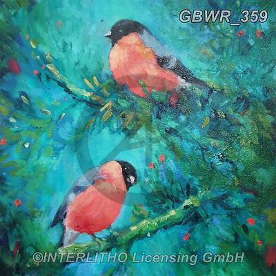 Simon, REALISTIC ANIMALS, REALISTISCHE TIERE, ANIMALES REALISTICOS, innovativ, paintings+++++SueGardner_Bullfinch,GBWR359,#a#, EVERYDAY