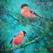 Simon, REALISTIC ANIMALS, REALISTISCHE TIERE, ANIMALES REALISTICOS, innovativ, paintings+++++SueGardner_Bullfinch,GBWR359,#a#, EVERYDAY