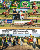 RB Madymosielle winning The Buzz Brauninger Arabian Distaff (grade 1) at Delaware Park on 9/2/16