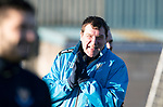 St Johnstone Training…28.12.18    McDiarmid Park<br />Manager Tommy Wright pictured during training this morning ahead of tomorrow's game at Dundee.<br />Picture by Graeme Hart.<br />Copyright Perthshire Picture Agency<br />Tel: 01738 623350  Mobile: 07990 594431