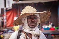 Africa,Ghana, Kumasi, Fulani people at the market