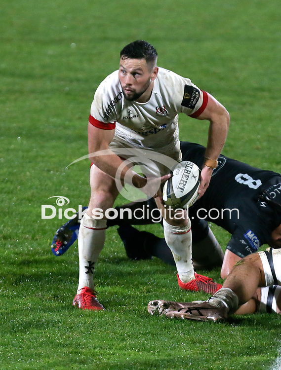Monday 9th November 2020 | Ulster Rugby vs Glasgow Warriors<br /> <br /> John Cooney during the Guinness PRO14 Round 5 match between Ulster Rugby and Glasgow Warriors at Kingspan Stadium in Belfast, Northern Ireland. Photo by John Dickson / Dicksondigital