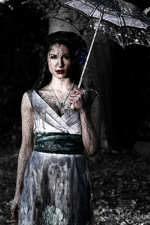 Models: Deborah Clarke, Bscene Agency.Photographer: Angela Halpin.Producer: Jason Foran.Special Effects: Brendan Byrne - Team FX.Fashion Designer: Caiomhe Keane