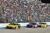 Monster Energy NASCAR Cup Series<br /> AAA 400 Drive for Autism<br /> Dover International Speedway, Dover, DE USA<br /> Sunday 4 June 2017<br /> Daniel Suarez, Joe Gibbs Racing, STANLEY Toyota Camry, Denny Hamlin, Joe Gibbs Racing, FedEx Express Toyota Camry, Kyle Busch, Joe Gibbs Racing, Pedigree Petcare Toyota Camry<br /> World Copyright: Logan Whitton<br /> LAT Images<br /> ref: Digital Image 17DOV1LW4005