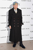 Stephen Jones<br /> at the Vogue 100: A Century of Style exhibition opening held in the National Portrait Gallery, London.<br /> <br /> <br /> ©Ash Knotek  D3080 09/02/2016